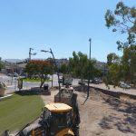 משנים את פני הכניסה לעיר פארק בית שאן