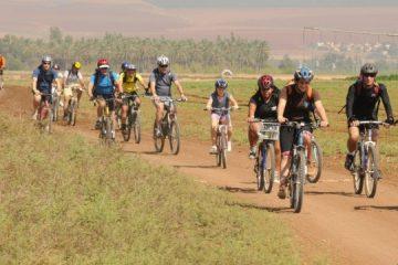 טיול אופניים לאורך הירדן