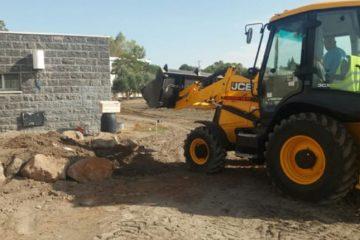 חדש: מעבדה חיצונית לשימור קרקע בחווה החקלאית בית שאן