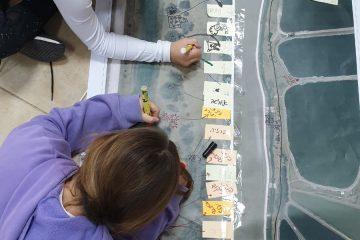 ילדי הגלבוע מתכננים ומאמצים את נחל חרוד