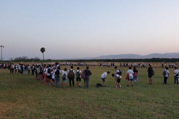 תלמידי כיתות ו' בטיול 'מעברים' על שביל עמק המעיינות