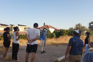 בצל מגבלות הקורונה: עיריית בית שאן קיימה מפגש תושבים לפיתוח טיילת נוף גלעד