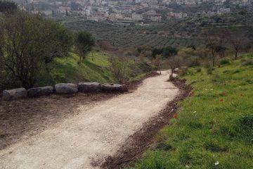 שביל חדש ומרהיב מחבר בין כפר תבור לנחל השבעה
