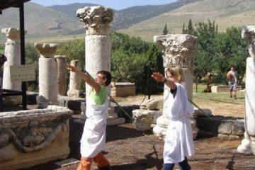 """המוזיאון הארכיאולוגי – """"גן השלושה"""""""