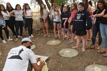 תלמידי קליבלנד וגאון הירדן יצרו יחד בחורשת בית יוסף